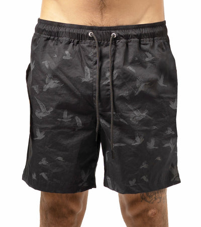 Birds Grunge Swim Trunks - Apache Concept Store