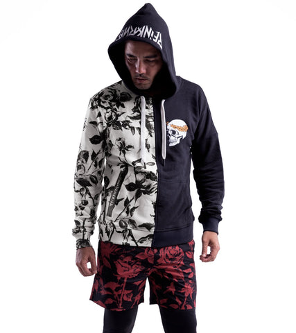 Skull & Roses Hoodie - Apache Concept Store