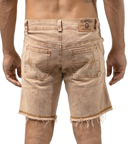 Stone Washed Denim Shorts - Apache Concept Store