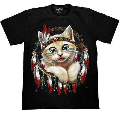 Indian Cat T shirt - Apache Concept Store
