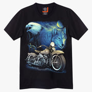 Eagle&Wolf Custom Bike T-shirt - Apache Concept Store