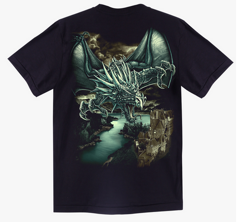 Flying Dragon T shirt - Apache Concept Store