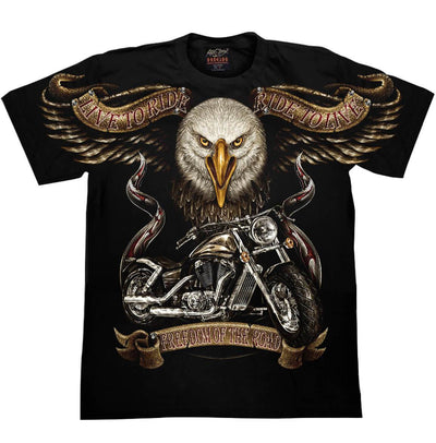 Born to be Wild Eagle T shirt - Apache Concept Store