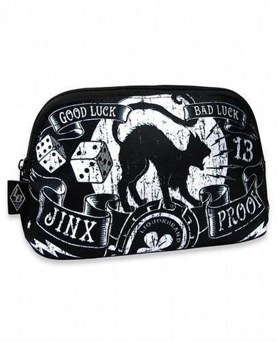 Jinx Proof Good Luck Liquorbrand Makeup Bag - Apache Concept Store