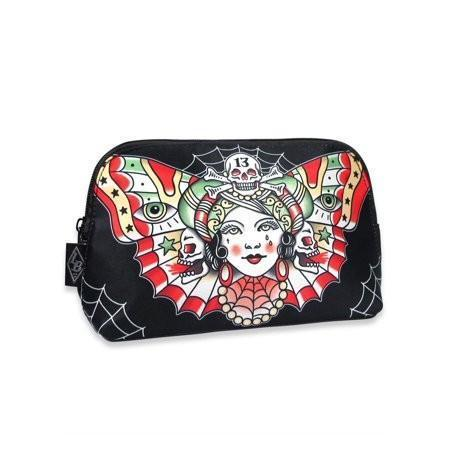 Gypsy Butterfly Tattoo Makeup Bag - Apache Concept Store