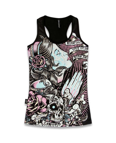 Liquorbrand Gypsy Scrolls Singlet Tank Top - Apache Concept Store