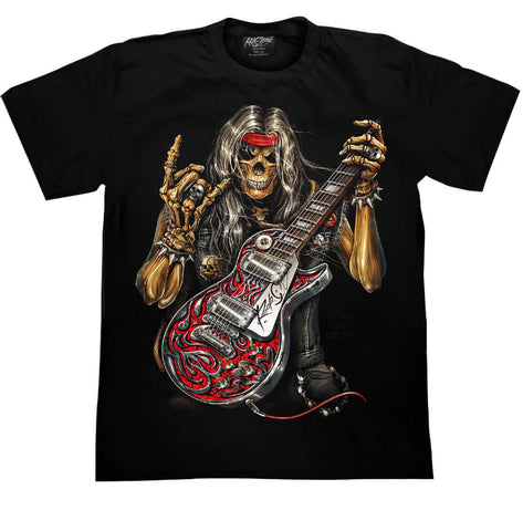 Skull Heavy Metal T shirt - Apache Concept Store