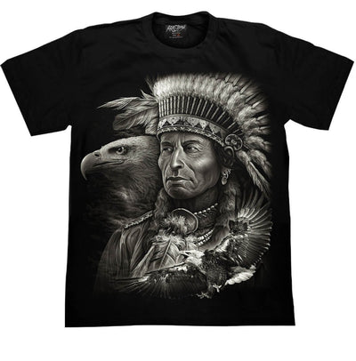 Eagle Indian T shirt - Apache Concept Store