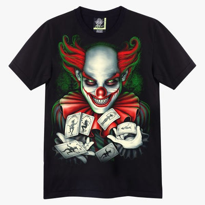 Joker Playing Cards T-shirt - Apache Concept Store