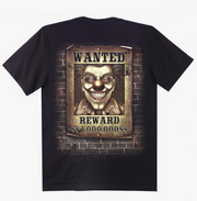 Harley Quinn and Joker Wanted T-shirt - Apache Concept Store