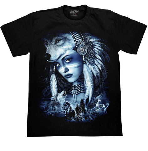 Indiana Wolf T shirt - Apache Concept Store