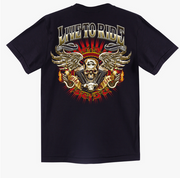 Golden Eagle Custom T-shirt - Apache Concept Store