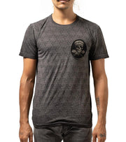 Logogram Cut Out Skull T shirt - Apache Concept Store