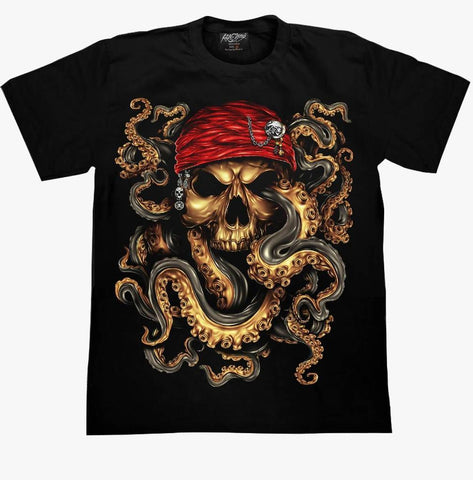 Skull Octopus T-shirt - Apache Concept Store
