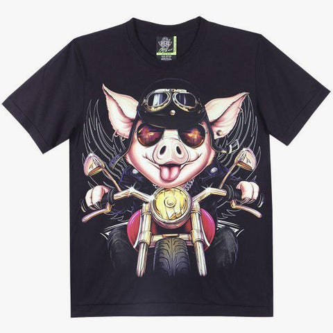 Pig Rider T shirt - Apache Concept Store