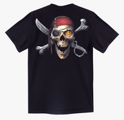 Skull Pirate of the Caribbean T-shirt - Apache Concept Store