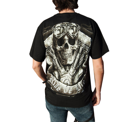 Ride or Die Skull T-shirt - Apache Concept Store