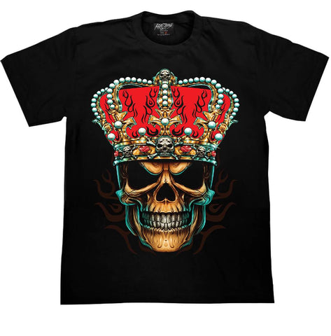 Skull Crown T shirt - Apache Concept Store