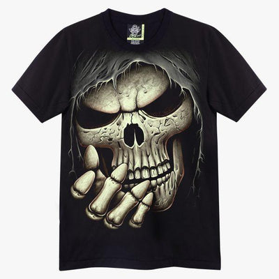 Face Skull T shirt - Apache Concept Store