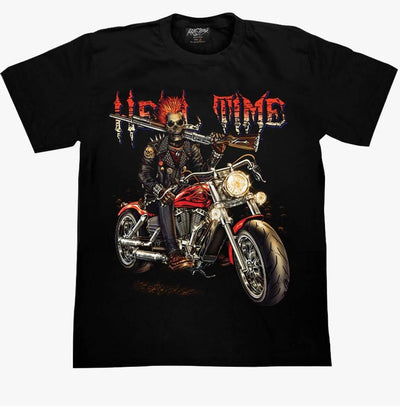 Hell Time T-shirt - Apache Concept Store