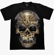 Optical Illusion Skull T-shirt - Apache Concept Store