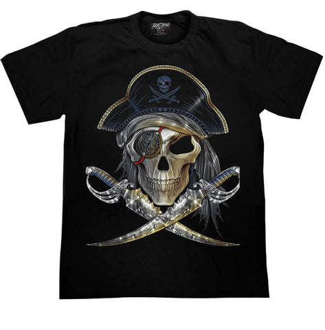 Skull Pirate T-shirt - Apache Concept Store