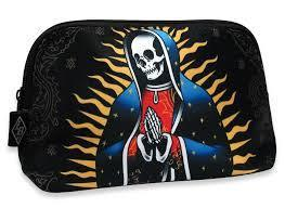 Skull Pray Tattoo Makeup Bag - Apache Concept Store