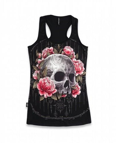 Ask Yank Liquorbrand Skull Top - Apache Concept Store