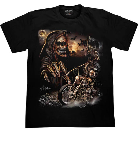 Skull Sons of Anarchy T-shirt - Apache Concept Store