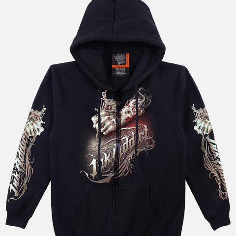 Skull Ink Hoodie Tattoo - Apache Concept Store