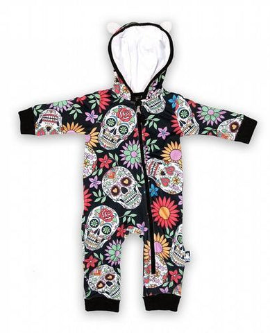 Sugar Skulls Baby playsuit - Apache Concept Store