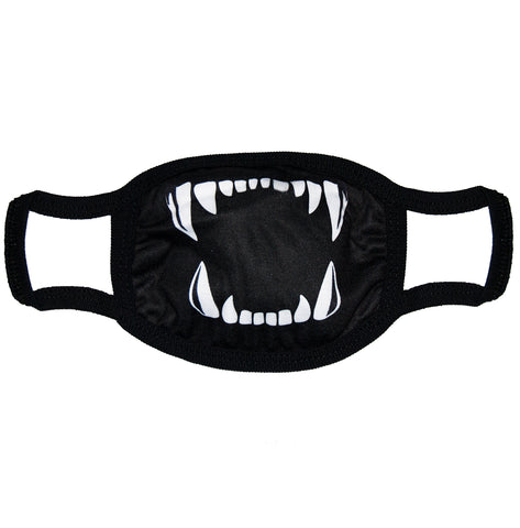 Sharp Teeth Face Mask - Apache Concept Store