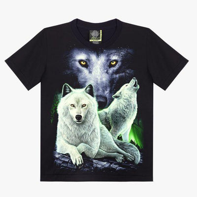 Wolves at Night T-shirt - Apache Concept Store