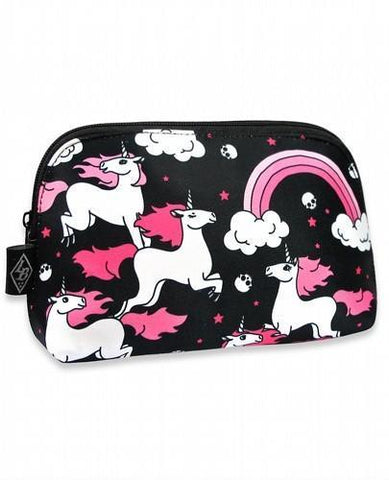 Unicorn Pink Rainbows Liquorbrand Cosmetic Bag - Apache Concept Store