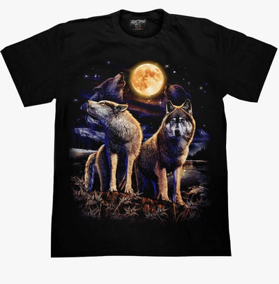 Wolf Moon T shirt - Apache Concept Store