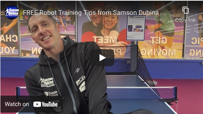 Free robot training tips from Samson Dubina