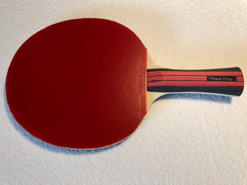 Power Pong Paddle for Novice and Intermediate Players