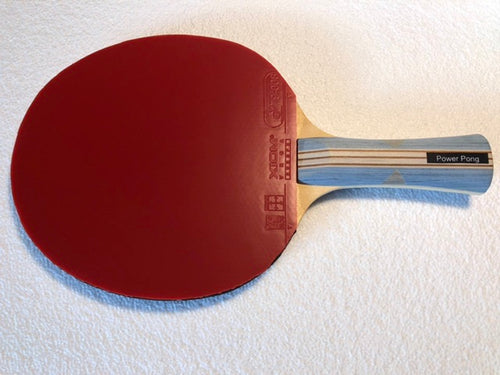 Power Pong 5-Ply Paddle with Xiom Vega Europe Rubbers