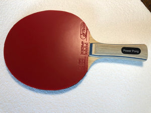 Power Pong Carbon Blade with Xiom Vega Europe Rubbers
