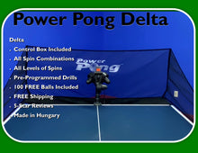 Load image into Gallery viewer, Power Pong DELTA Table Tennis Robot (ETA 3/8/21)