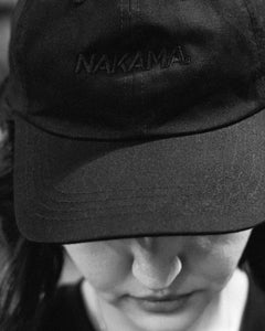 NAKAMA Shadows Black on Black Dad hat