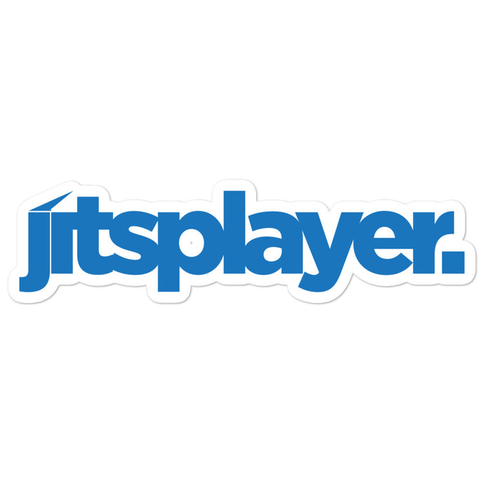 Jitsplayer Blue Sticker