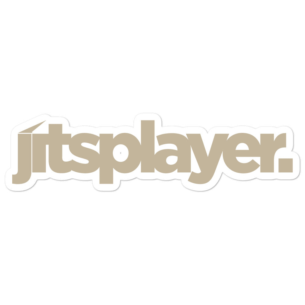 Jitsplayer Brown Sticker