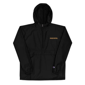 NAKAMA GOLD Embroidered Champion Packable Jacket