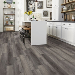 "Armstrong Rigid Core Essentials Wolf Point Hickory ""Moon Shadow"" Luxury Vinyl Plank"