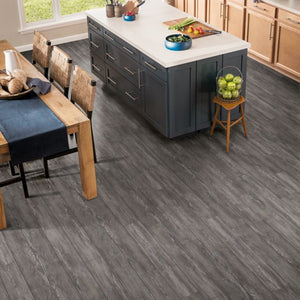 "Armstrong Rigid Core Elements Uniontown Oak ""Indigo Dust"" Luxury Vinyl Plank"