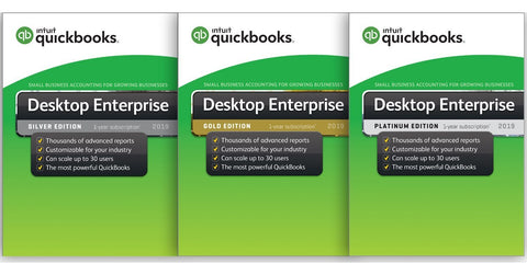 QuickBooks Enterprise 19- Annual Subscription
