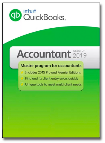 QuickBooks Desktop Accountant 2019 US VERSION