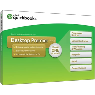 QuickBooks Premier 2019 US VERSION