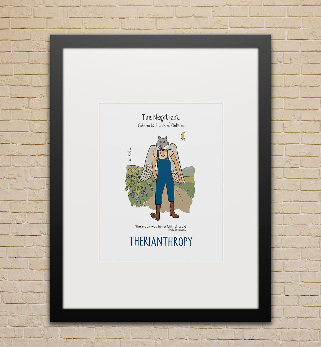 Framed poster (small): The Negotiant